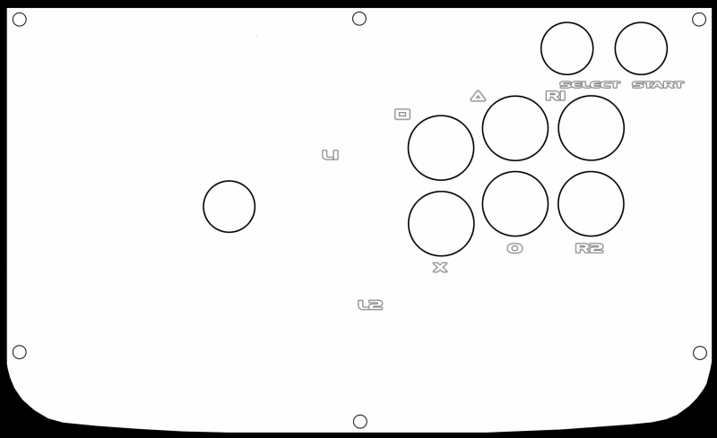 joystick vault tekken 5 stick 6 button template