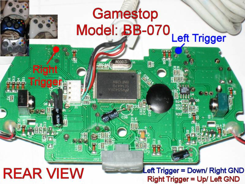 Xbox 360 controller hack tutorial wireless hack now available httpjoystickvaultdata507mediumbb070wiredrearg ccuart