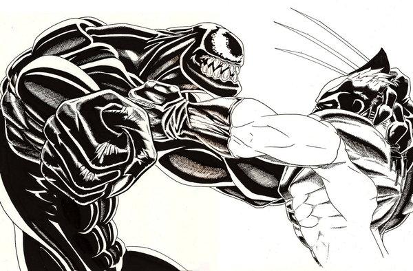 Venom_Vs_Wolverine_by_turbosuo